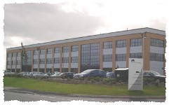 The Laddaw head-office and distribution centre in Bardon, near Coalville in Leicestershire.